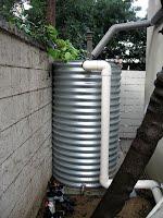 Small steel tank