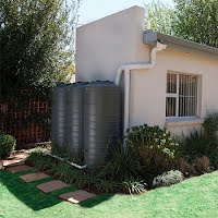 Rain water harvesting with multiple tanks
